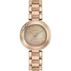 Citizen Ladies CITIZEN L Carina Diamond Rose Tone Bracelet Watch EM0463-51Y