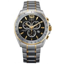 Citizen Mens Chronograph Two Tone Bracelet Watch AT2074-58E