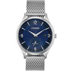 Citizen Mens BTW Mesh Bracelet Watch BV1110-51L