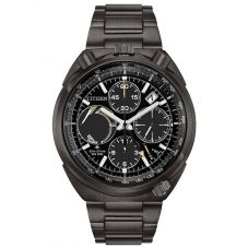 Citizen Mens Promaster Tsuno Chrono Racer Bullhead Limited Edition Black Bracelet Watch AV0077-82E
