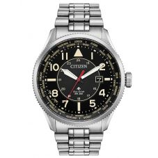 Citizen Mens Promaster Nighthawk Black Dial Bracelet Watch BX1010-53E
