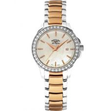 Rotary Ladies Cubic Zirconia Watch LB90119/41