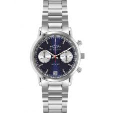 Rotary Mens Steel Chronograph Watch GB90130/05