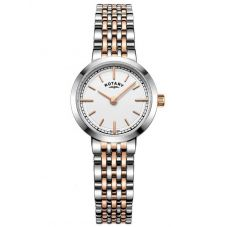 Rotary Ladies Canterbury Two Tone Bracelet Watch LB05061/02