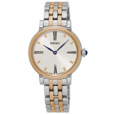 Seiko Ladies Discover More Two Tone Bracelet Watch SFQ816P1