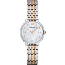 Emporio Armani Ladies Two Tone Bracelet Watch AR2508