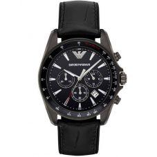 Emporio Armani Mens Chronograph Strap Watch AR6097