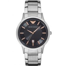 Emporio Armani Mens Stainless Steel Bracelet Watch AR2514