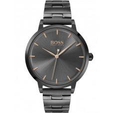 BOSS Ladies Marina Black Dial Bracelet Watch 1502503