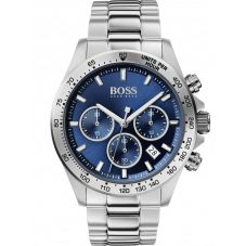BOSS Mens Hero Sport Lux Blue Dial Bracelet Watch 1513755