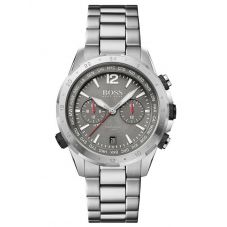 BOSS Mens Nomad Grey Date Dial Bracelet Watch 1513774