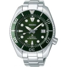 Seiko Mens Prospex Sumo Automatic Divers Green Dial Bracelet Watch SPB103J1