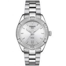 Tissot Ladies T-Classic PR-100 Sports Chic Silver Watch T101.910.11.031.00
