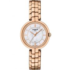 Tissot Ladies T-Lady Flamingo Rose Gold Watch T094.210.33.111.01