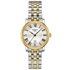 Tissot Ladies T-Classic Carson Premium Two Tone Bracelet Watch T122.210.22.033.00
