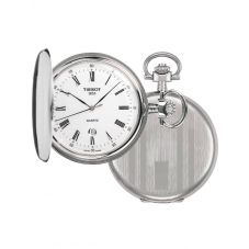 Tissot Mens Savonnette Silver Full Hunter Pocket Watch T836.553.13
