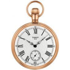Tissot Mens Lepine Rose Gold Open Case Pocket Watch T861.405.99.033.01
