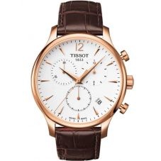 Tissot Mens T-Classic Tradition Strap Watch T063.617.36.037.00