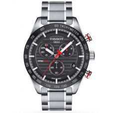 Tissot Mens T-Sport PRS-516 Quartz Chronograph Red and Black Bracelet Watch T100.417.11.051.01