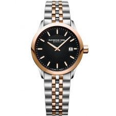 Raymond Weil Ladies Freelancer Two Colour Bracelet Watch 5629-SP5020021