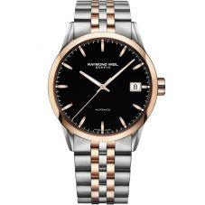 Raymond Weil Mens Freelancer Two Tone Bracelet Watch 2740-SP5-20011