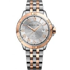 Raymond Weil Mens Tango Two Colour Bracelet Watch 8160-SP5000658