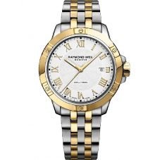 Raymond Weil Mens Tango Two Beat Rhythm Bracelet Watch 8160-STP000308