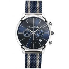 Thomas Sabo Mens Two Colour Rebel Spirit Chronograph Bracelet Watch WA0285-281-209-42MM