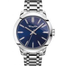THOMAS SABO Mens Rebel Blue Watch WA0310-201-209-46MM