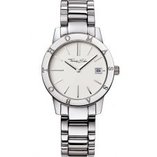Thomas Sabo Steel White Dial Round Watch WA0004-201-202