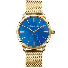 Thomas Sabo Ladies Glam Spirit Gold Tone Mesh Bracelet Watch WA0274-264-209-33 MM