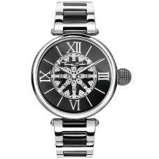 Thomas Sabo Ladies Two Colour Karma Bracelet Watch WA0298-290-203-38MM