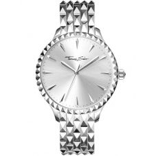 Thomas Sabo Ladies Rebel Silver Watch WA0318-201-201-38MM