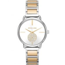 Michael Kors Ladies Portia Two Colour Bracelet Watch MK3679