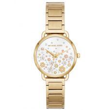 Michael Kors Mini Portia Gold Tone Bracelet Watch MK3840