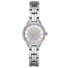 Michael Kors Ladies Allie Crystal Dial Stainless Steel Bracelet Watch MK4411