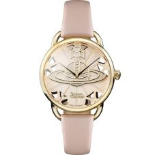 Vivienne Westwood Ladies Leadenhall Strap Watch VV163BGPK