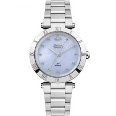 Vivienne Westwood Ladies Montagu Blue Mother Of Pearl Dial Bracelet Watch VV206BLSL