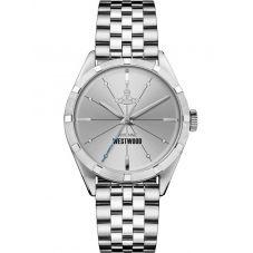Vivienne Westwood Mens Conduit Silver Dial Bracelet Watch VV192SLSL