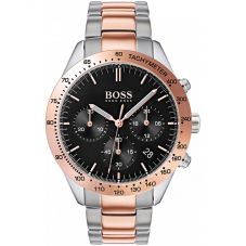BOSS Mens Talent Chronograph Two Tone Bracelet Watch 1513584