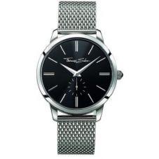 Thomas Sabo Steel Mesh Black Dial Watch WA0152-201-203