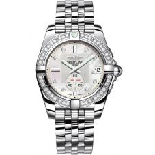 Breitling Ladies Galactic 36 Automatic Bracelet Watch A3733053/A717 376A