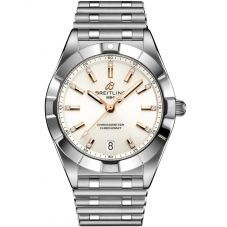 Breitling Ladies Chronomat 32 Diamond Bracelet Watch A77310101A3A1