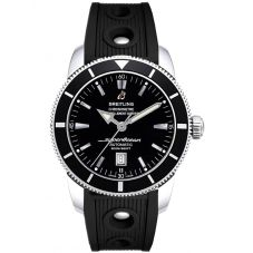 Breitling Mens Superocean Heritage 46 Rubber Strap Watch A1732024-B868 201S