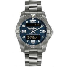 Breitling Mens Professional Aerospace Evo Titanium Bracelet Watch E7936310-C869 152E