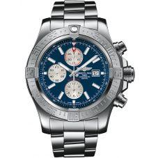 Breitling Mens Super Avenger II Bracelet Watch A1337111C1A1