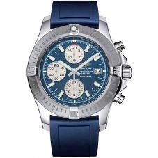 Breitling Mens Chronomat Colt Chronograph Rubber Strap Watch A1338811-C914 145S