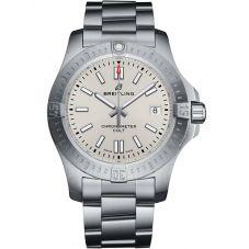 Breitling Mens Chronomat Colt Automatic 41 Bracelet Watch A17313101G1A1