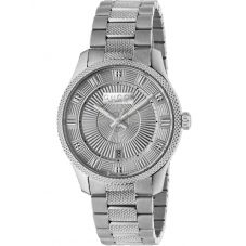 Gucci Mens G-Timeless New Automatic Chevron Dial Bracelet Watch YA126339