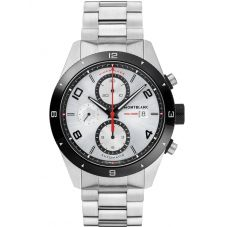 Montblanc Mens Timewalker Chronograph Bracelet Watch 116099